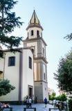 Dei Santi Ciro e Giovanni di Chiesa Vico Equense Immagini Stock Libere da Diritti