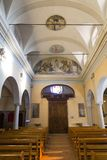 Dei Santi Simone e Fedele Chiesa стоковое изображение