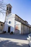 Dei Santi Simone e Fedele Chiesa стоковая фотография rf