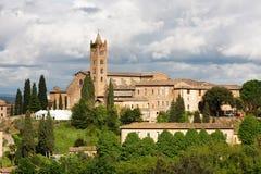 Dei Servi (Siena) de Santa María foto de archivo