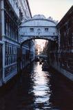 Dei Sospiri di Ponte - di Venezia Fotografia Stock Libera da Diritti