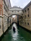 Dei Sospiri, Venise, Italie de Ponte Images libres de droits