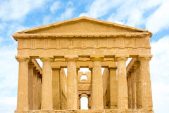 Агридженто, Сицилия, Италия Известное dei Templi Valle Стоковое Фото