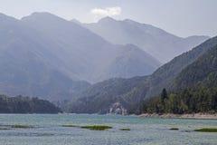 Dei Tramonti Lago в Friuli стоковая фотография