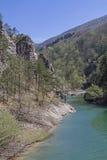 На dei Tramonti Lago в Friuli стоковое изображение