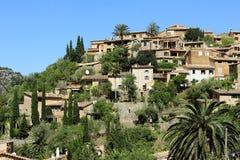 By Deia i Majorca, Spanien Arkivfoto