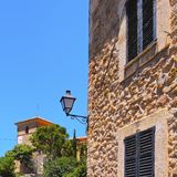 Deia on Majorca Stock Images