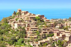 Deia Mallorca Hiszpania fotografia royalty free