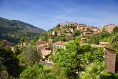 Deia in Mallorca, Spain Stock Image