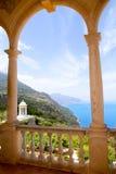 Deia mirador des Galliner Son Marroig Majorca. Deia mirador des Galliner at  Son Marroig palace Mallorca in Balearic islands Royalty Free Stock Photos