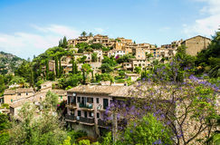 Deia village on Majorca Royalty Free Stock Images