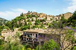 Deia wioska na Majorca obrazy royalty free