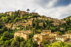 Deia wioska na Majorca zdjęcia royalty free