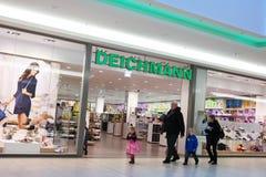 Deichmann branch Stock Photo