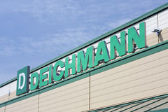 Deichmann sign Royalty Free Stock Photos