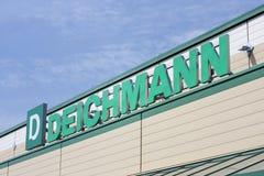 Deichmann sign Royalty Free Stock Photos