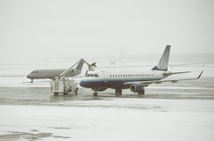 deicing Royaltyfria Foton