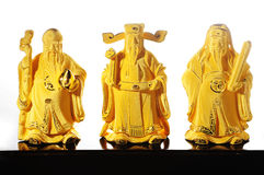 Deidad china Shou - Fu Lu Shou Fotos de archivo
