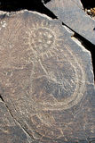 Deidade antiga Tengri. Imagem de Stock