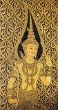 A deidade conserva a porta fotos de stock