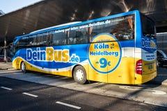 DeinBus Deintercitybus Lizenzfreie Stockfotografie