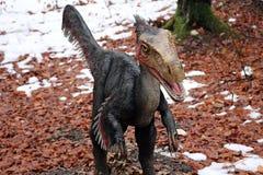Deinonychus恐龙画象 图库摄影