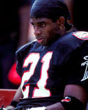 Deion Sanders Atlanta Falcons Royalty Free Stock Images