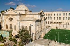 Deir Al Zeitoun, Church of the Holy Archangels in Jerusalem Royalty Free Stock Photography