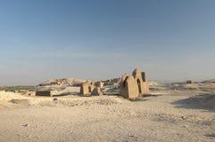 Deir el Bahari in Egypt stock images