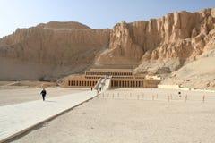 Deir EL-Bahari, Luxor, Ägypten Lizenzfreie Stockfotos