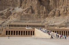 Deir el-Bahari near Luxor Royalty Free Stock Image