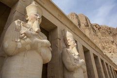 Deir el-Bahari near Luxor Stock Photography