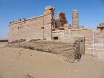 Deir el-Hagar. Temple in Egypt Stock Photo