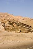 deir el Luxor medina grobowowie Obrazy Royalty Free