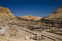 Deir el-medina Stock Photography