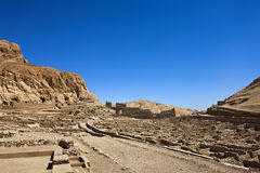 Deir el-Medina Royalty Free Stock Image
