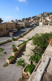 Deir el-Qamar, Lebanon. The historical village of Deir el-Qamar in the mountains of Lebanon, with its traditional style red tiled roof houses, ancient mosque and Royalty Free Stock Photos