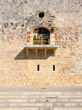 Deir el Qamar, Lebanon. Architectural window details of  fakhreddine palace now a national landmark and major tourist attraction Stock Images