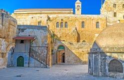 The Deir El-Sultan Stock Images