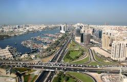 Deira小河在迪拜 免版税图库摄影