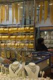 Deira -金的Souk -迪拜-珠宝 免版税图库摄影
