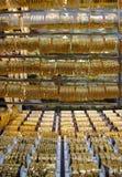 Deira -金的Souk -迪拜-珠宝 免版税库存照片