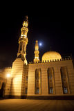 Deira City Center Mosque at Night, Dubai, UAE Royalty Free Stock Photos