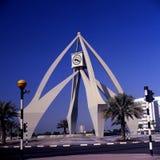 Deira Clocktower, Dubai fotografia stock