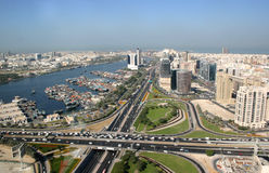 Deira Creek  in Dubai Royalty Free Stock Photography