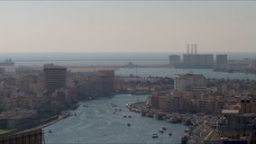Deira creek 4k time lapse from dubai city Stock Photography