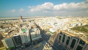 Deira część Dubai miasta 4k czasu upływ zdjęcie wideo
