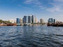 Deira Dhow Wharfage in Dubai Royalty Free Stock Photography