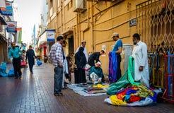 Street scene in Deira Stock Images