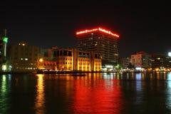 Deira zatoczka Dubaj obraz stock